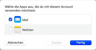 Apple Mail Einrichtung - 4