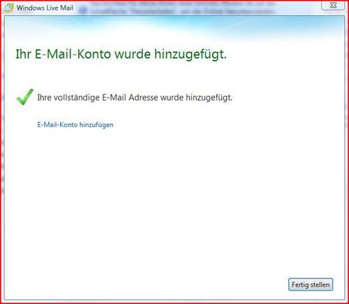 Livemail Schritt 4