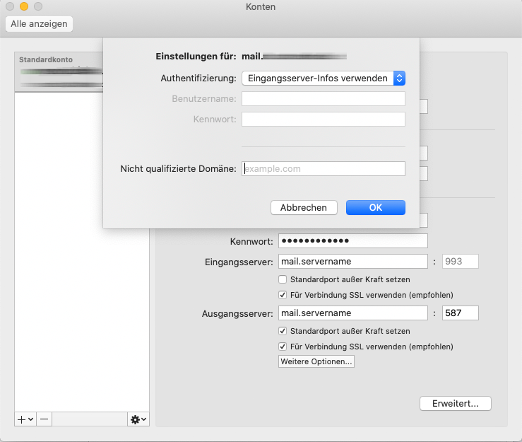 Outlook für Mac: Bearbeiten-Dialog 2