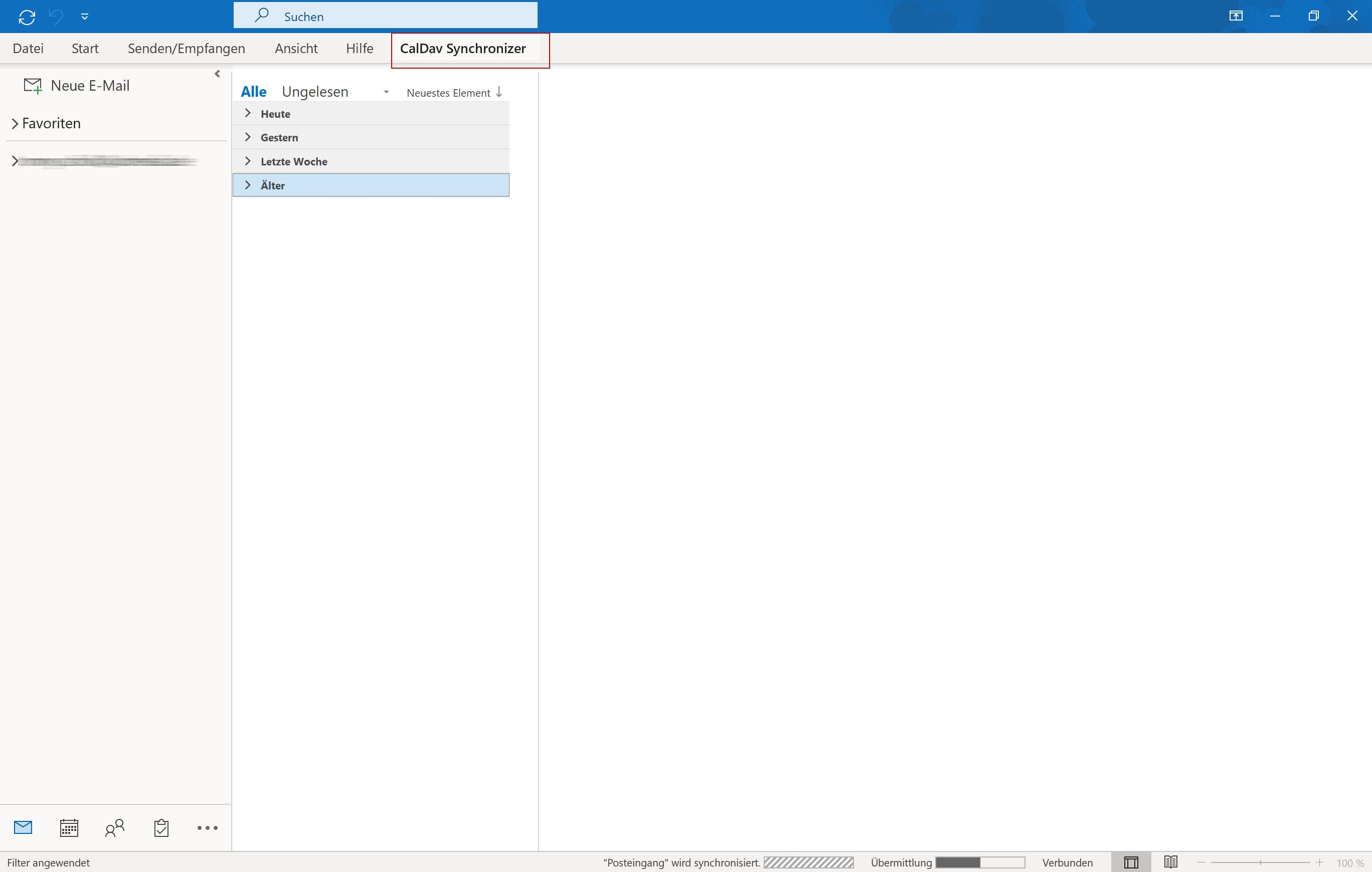 CalDAV via Outlook - 1