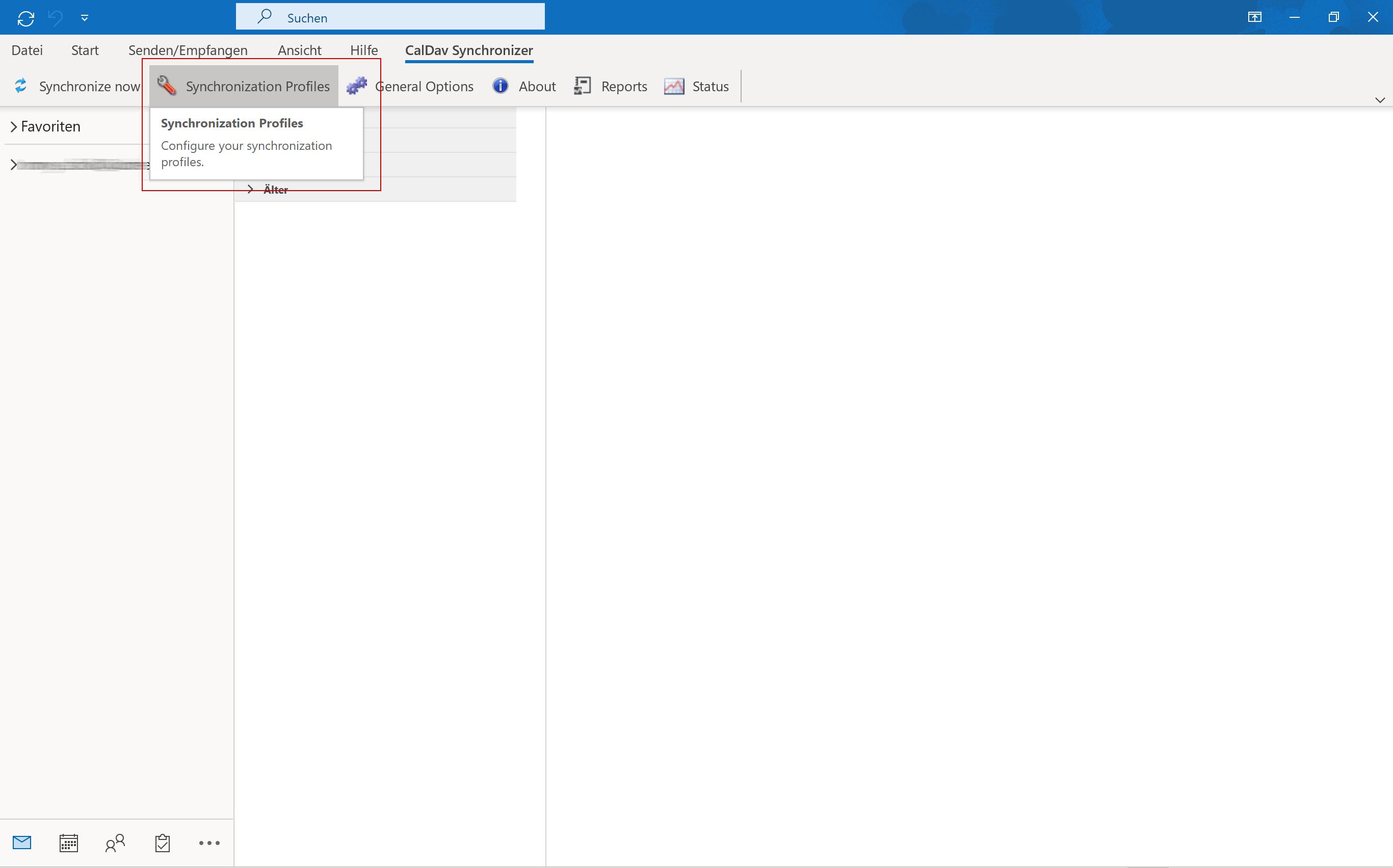 CalDAV via Outlook - 2