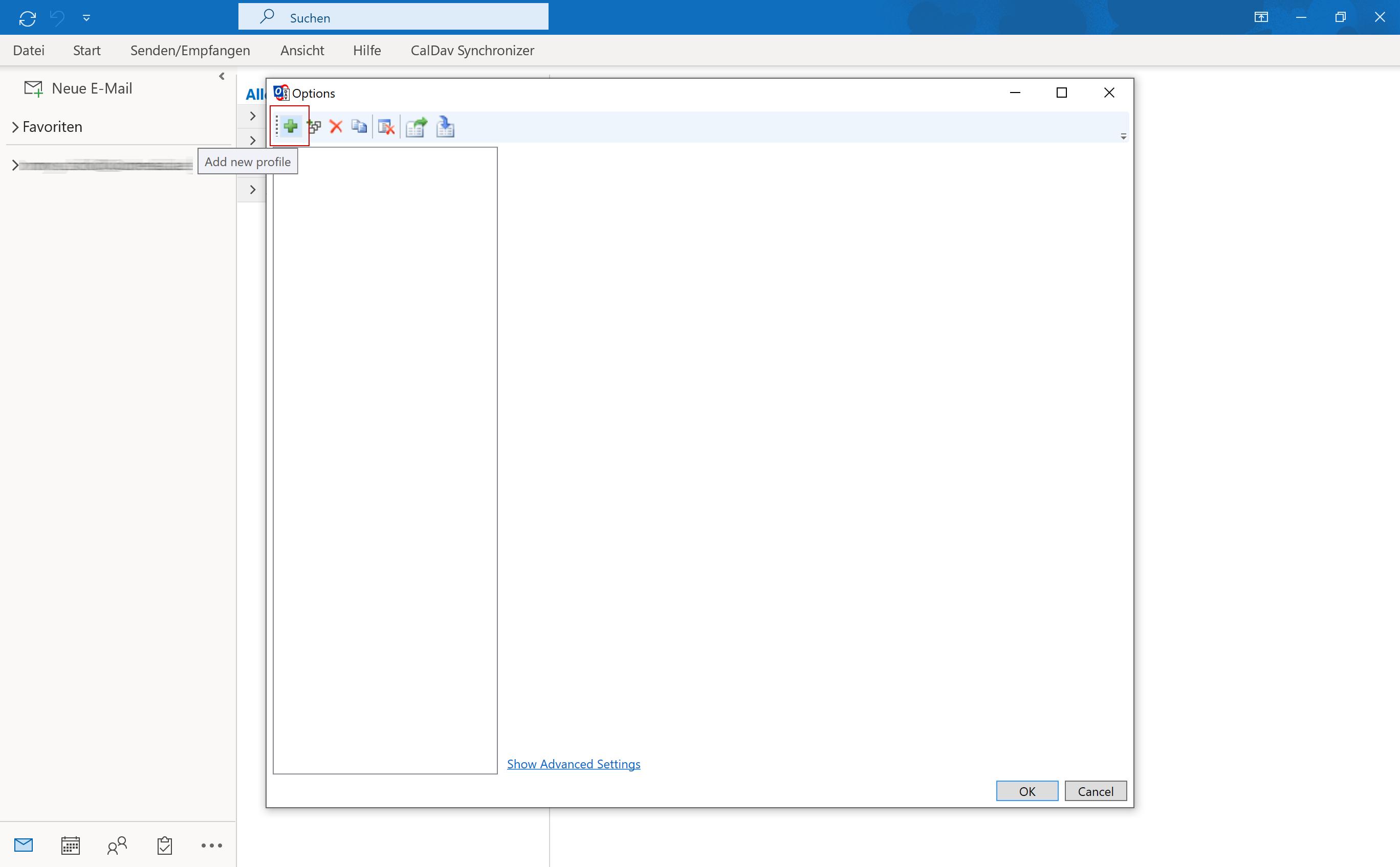 CalDAV via Outlook - 3