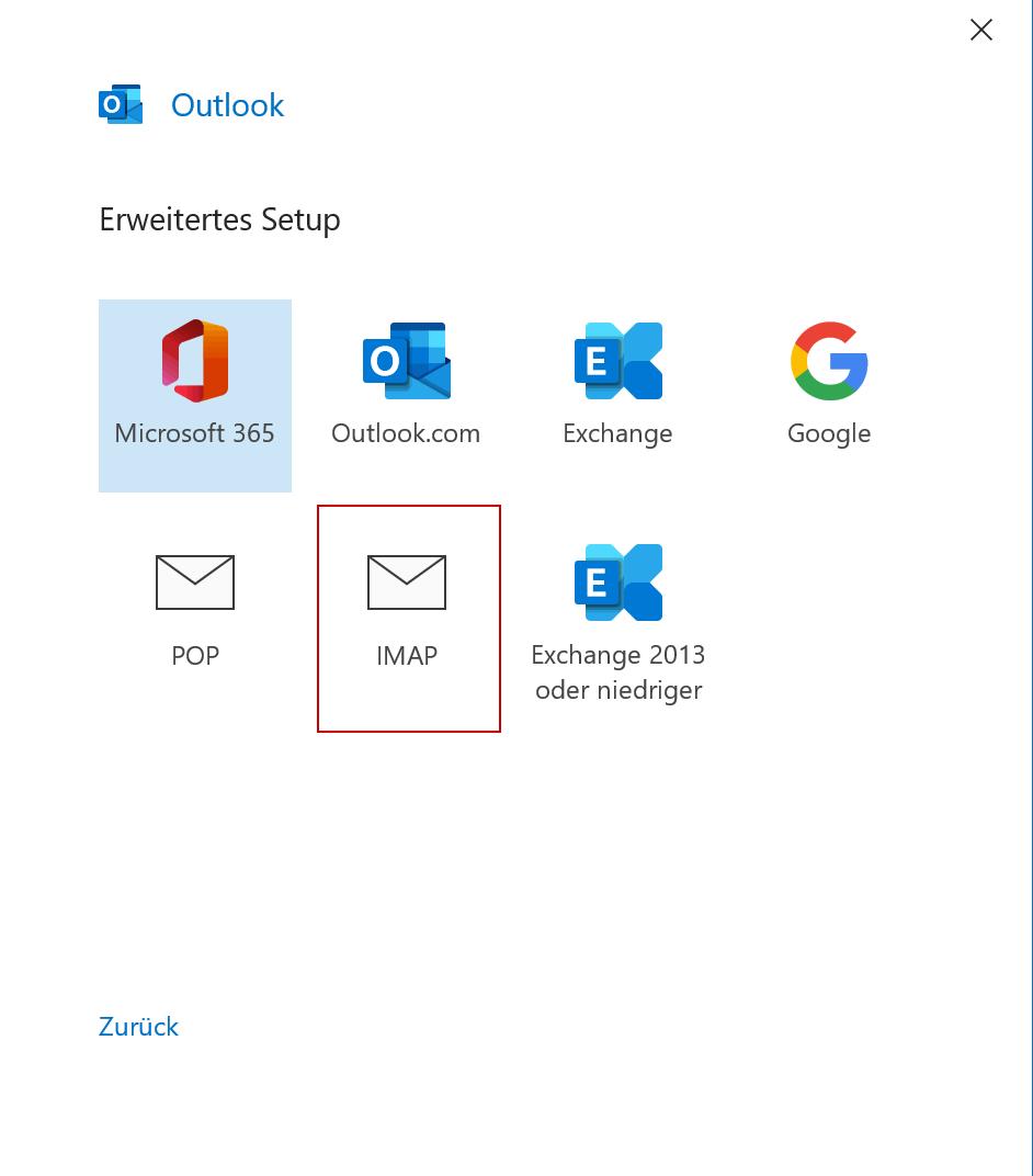 Outlook365 Maileinrichtung - 2