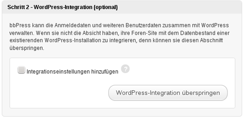 bbPress in WordPress integrieren