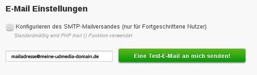 E-Mail Einstellung in PrestaShop